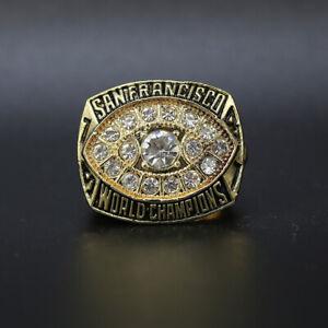 Joe Montana Ring 1981 San Francisco 49ers Super Bowl Championship Ring with Box