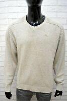 Kappa Maglione Uomo Taglia L Cardigan Maglia Pullover Sweater Man Felpa Casual