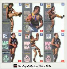 RARE 1995 Select AFL Sensation Cards Base Card Team Set West Coast (3)
