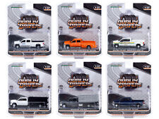 """Dually Drivers"" Series 6, Set Of 6 Trucks 1/64 Diecast Cars By Greenlight 46060"