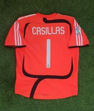 real madrid iker casillas 2007 2008 goalkeeper shirt jersey camiseta magila