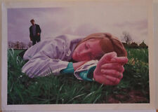 ANDY WALKER original art, Signed, MIDWICH CUCKOOS, 1987, Village of the Damned