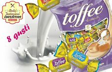 CARAMELLE SILKY OLYMPIC 8 GUSTI ASSORTITI  1 KG  INGROSSO TOFFEES