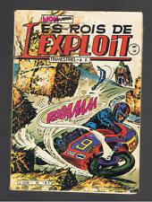 LES ROIS DE L'EXPLOIT N°34  MON JOURNAL 1981
