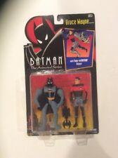 BATMAN THE ANIMATED SERIES BRUCE WAYNE WITH SNAP-ON BATMAN ARMOR 1992 KENNER