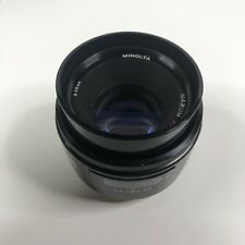 Minolta AF Maxxum 50mm f1.7 Lens 50/1.7 Sony