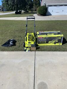 "RYOBI 40V Brushless 20"" Cordless Lawn Mower (RY401110) With Battery & Charger"