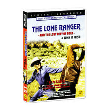The Lone Ranger and the Lost City of Gold (1958) - Clayton Moore DVD *NEW