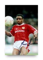 Paul Parker Hand Signed 6x4 Photo Manchester United Autograph Memorabilia + COA