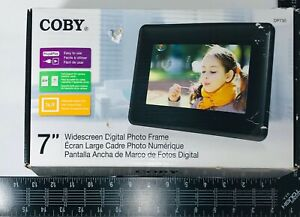 """Coby DP730 7"""" Digital Picture Frame"""