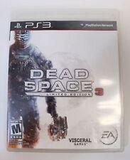 Dead Space 3/Call of Duty: Moder Warfare 3/Saints Row 3 Lot PS3 Games TM8