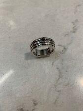 Piaget Possession 18k Spinning Ring 3 Rows Diamonds Pinky / Wedding ring