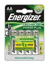 12 Piles AA rechargeables Energizer Recharge Power Plus, 3 packs de 4 *NEUF*