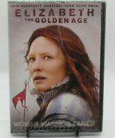 ELIZABETH - THE GOLDEN AGE DVD MOVIE, CATE BLANCHETT, GEOFFREY RUSH, CLIVE O. WS