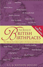 """""""AS NEW"""" The Book of British Birthplaces, Mullay, Marilyn, Mullay, A. J., Book"""