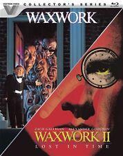 WAXWORK + WAXWORK II LOST IN TIME New Blu-ray Vestron Video Collector's Series