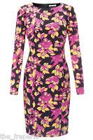 ALICE TEMPERLEY Somerset Label 100% Silk Floral Shift Dress (UK 6 - UK 18)