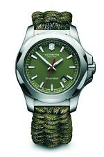 Victorinox I.N.O.X Special Survival Paracord Green Strap Steel Mens Watch 241727