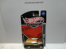 Hot Wheels Garage Gold/Black '55 Chevy Panel Truck w/Real Riders
