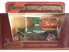 Matchbox Y-3 Models Of Yesteryear - 1912 Model T Ford Tanker BP, unbespielt. OVP