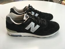 New Balance X J. Crew Black Suede 1400 Made In USA Size 12 Almost Perfect