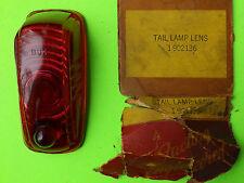 1941 Plymouth NOS Tail Light Lens  P11 P12 MoPaR part # 902136 Factory Fresh!