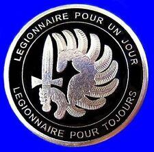 RARE ELITE FRENCH FOREIGN LEGION 2e REP COMMANDOS SPECIAL FORCES COIN MEDAL