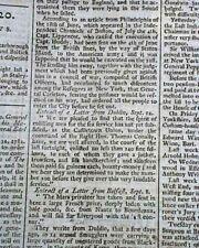 Revolutionary War Era Original Enemy London Chronicle England Old 1782 Newspaper