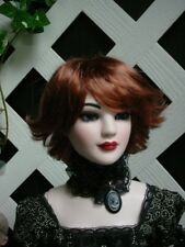 """DOLL Wig, Monique Gold """"Roxie"""" Size 8/9  - Foxy Red"""