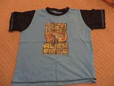 Ragazzi Bambino T-shirt maglietta a dai 6-7 anni Maniche Corte Turchese ben 10 TEN