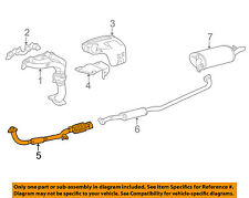 TOYOTA OEM 97-00 Camry 2.2L-L4 Exhaust System-Front Pipe 1741003130
