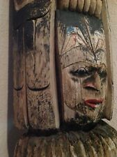 AUTHENTIC Native American Totem Pole - 95""