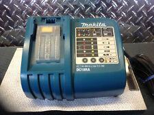 Makita Ni-MH & Li-ion Battery Charger 7.2-18V DC18RA