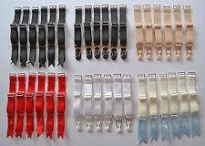 Premium Quality Suspender Clip Replacemnt Strap Corset Stocking lingerie Vintage