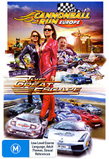 CANNONBALL RUN EUROPE (THE GREAT ESCAPE) - HOT FAST CAR STREET RACING ACTION DVD