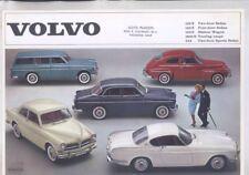 1964 Volvo 122S 1800S 544 Brochure wz0637