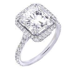 1.96ct Radiant Cut Diamond Engagement Ring EGL 14k Gold