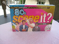Scene It 80's Edition~The Radical Trivia DVD Game~New & Factory Sealed!