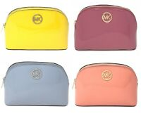 Michael Kors Fulton Large Travel Pouch Patent Leather (Select Color) $98