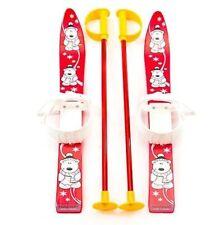 Kinderski Babyski Lernski 70cm Ski für Kinder in Farbe Rot