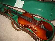 Beautiful old 4/4 Violin violon, nicely flamed