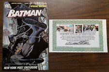 Batman #608 New York Post Exclusive signed by Jim Lee & Scott Williams with COA