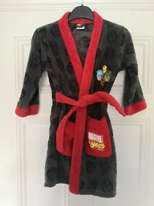 Marvel Child's Dressing Gown. Age 5-6 Years, Height 116cm.