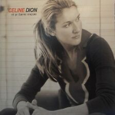 CELINE DION : ET JE T'AIME ENCORE [ RARE PROMO CD SINGLE ]