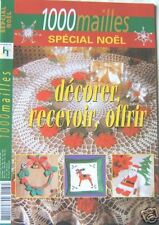 REVUE 1000 MAILLES crochet d'art  SPECIAL NOEL  N° 87H