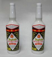 (2x) 32oz Jonathan English PINA COLADA tiki cocktail drink mix FREE SHIP IN USA