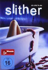 Slither ( Preisgekrönter Horrorfilm ) mit Elizabeth Banks, Nathan Fillion, Micha