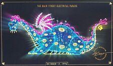 1996 MAIN STREET ELECTRICAL PARADE ELLIOT PETES DRAGON ANNUAL PASSHOLDER LITHO