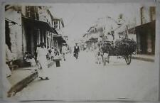 1910's~Rppc~Great Downtown St Scene~Panama City?