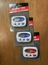 3 Pc Digital Kitchen Timers For cooking, Baking, HAND WASHING - HOME RESTAURANT